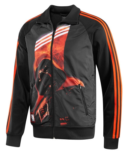 adidas star wars jacket Grey