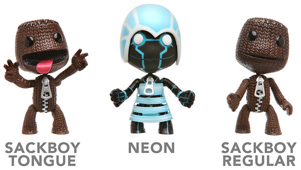 LittleBigPlanet Sackboy 4″ Action Figures At ThinkGeek
