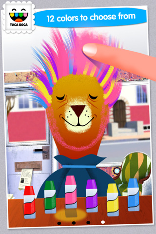 Tgwk s review toca hair salon v1 1 ios the gamer with - Toca hair salon game ...