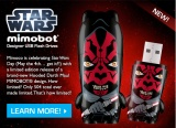 Mimoco Celebrating Star Wars Day With Limited Edition Hooded Darth Maul MIMOBOT!