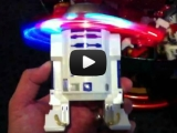 Star Wars R2-D2 Spinning Head Toy at Disney [Video]