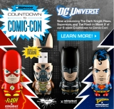 Mimoco Announces New Wave of DC Universe MIMOBOT Designs As Well As SDCC'12 Exclusive Bane