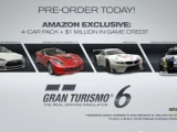 Gran Turismo 6 Amazon Pre-Order Details – $1 Million In-Game Credit and Exclusive 4-Car Pack [Video]