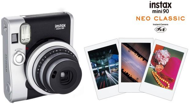 Fujifilm Instax mini 90 Brings Retro Back to Instant Photography