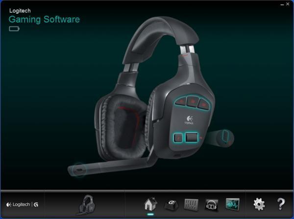Logitech G930 7 1 Surround Sound Wireless Gaming Headset