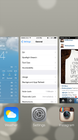 iOS7 Tip: Multitasking