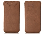 Snugg iPhone 5/5S Pouch Case in Distressed Brown Leather (Review)