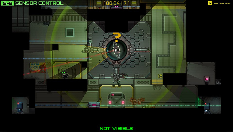 Stealth Inc A Clone In The Dark A Puzzler Worth Playing Again And Again Ps Vita Review The Gamer With Kids