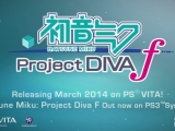 Hatsune Miku: Project DIVA f for the PlayStation Vita Trailer (Video)