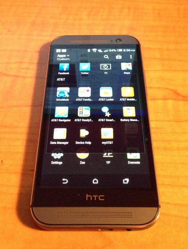 htc m8 apps