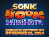 Sonic Boom: Shattered Crystal Trailer on 3DS [Video]