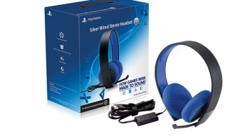 sony introduces new silver wired stereo headset for ps4, ps3, and ps on ps3  sony playstation headset repair