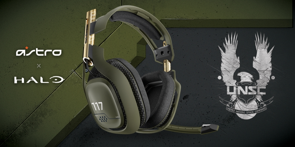 Astro Gaming Announces Special Halo Edition A50 Wireless ...