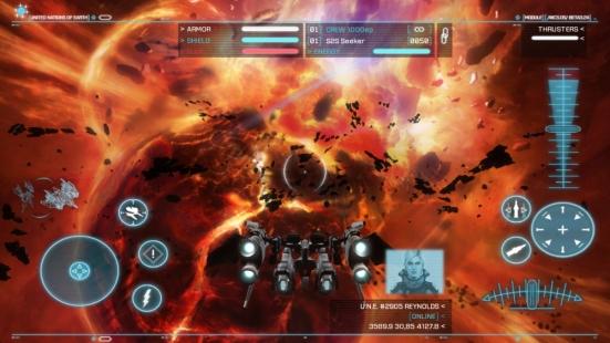 Strike Suit Zero Android - Screenshot 3