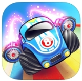 Rocket Cars Review – An Action Packed, One-Handed Racer [iOS]