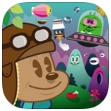HeyHey Hurry Review – A Kid Friendly Intro to Side Scrolling Shooters[iOS]