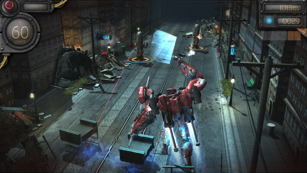 New Ps4 Games Coming Soon : New mechrunner screenshots coming soon to ps vita