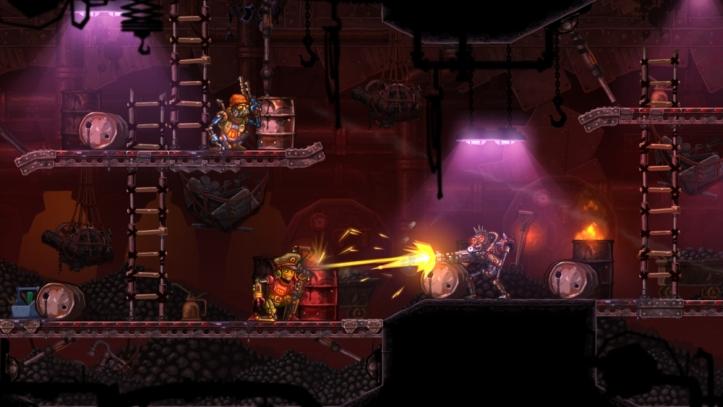 SteamWorld Heist screenshot 02