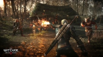 The_Witcher_3_Wild_Hunt-Geralt_torching_his_enemies