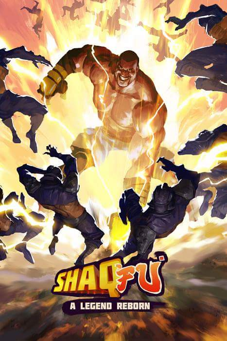 Shaq-Fu - A Legend Reborn Key Art