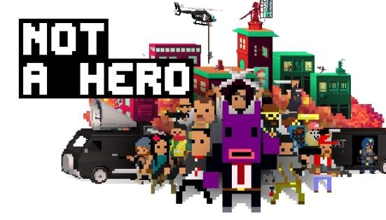 Not A Hero - banner