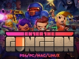Enter the Gungeon Launch Trailer – Arriving April 5th on PS4/PC