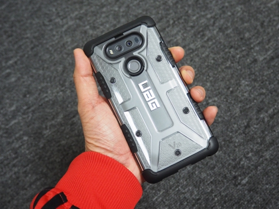 the best attitude e2452 37fc8 Urban Armor Gear Plasma Series Case for LG V20 Review | The Gamer ...