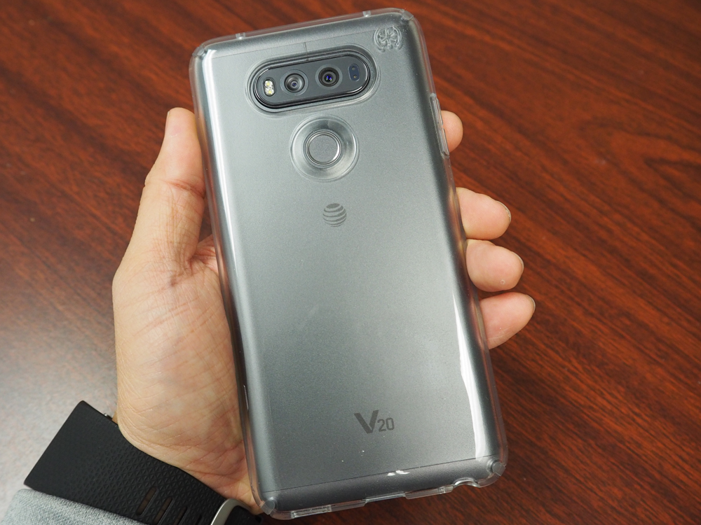 online store bb6a2 2cb77 Speck Presidio Clear LG V20 Case Review | The Gamer With Kids