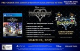 KINGDOM HEARTS HD 1.5 + 2.5 ReMIX Limited Edition Pre-order with Exclusive Pin