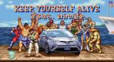 "Street Fighter II x Toyota C-HR Mashup – ""Crossover the World"""