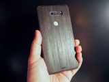 TOAST Real Wood Cover for LG V30 Review
