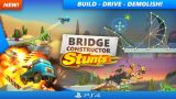 New Bridge Constructor Stunts Out Today on PlayStation 4
