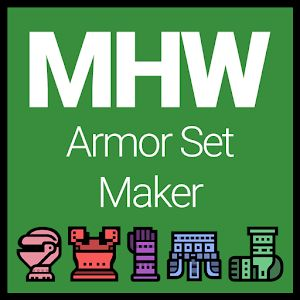 MHW – Armor Set Maker Review | Android | The Gamer With Kids