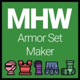 MHW – Armor Set Maker Review | Android