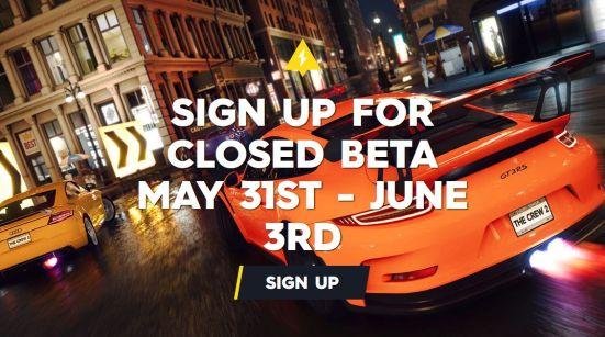 The Crew 2 Closed Beta