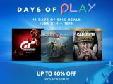 PSA: Big Savings on PS4 Games During Days of Play 2018