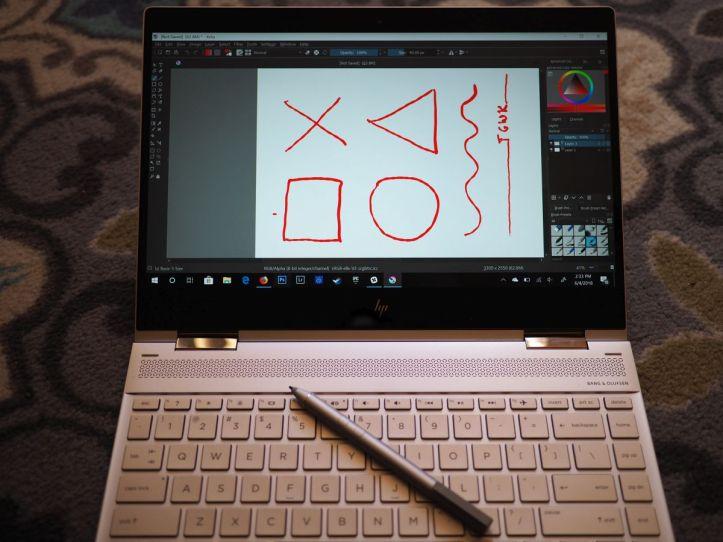 HP Spectre x360 HP Pen