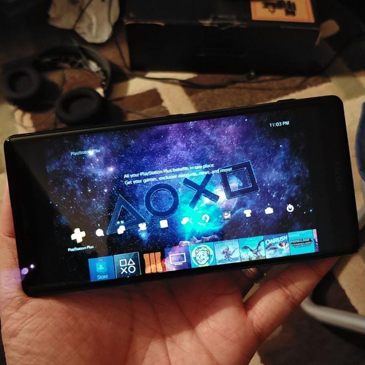 Xperia XZ2 PS4 Remote Play