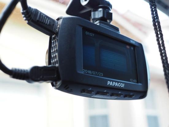 Papago GoSafe S810 dash cam