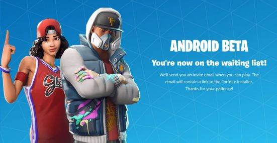 fortnite for android app store