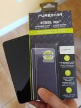 PureGear Steel 360 Tempered Glass Screen Protector for LG V40 ThinQ Review