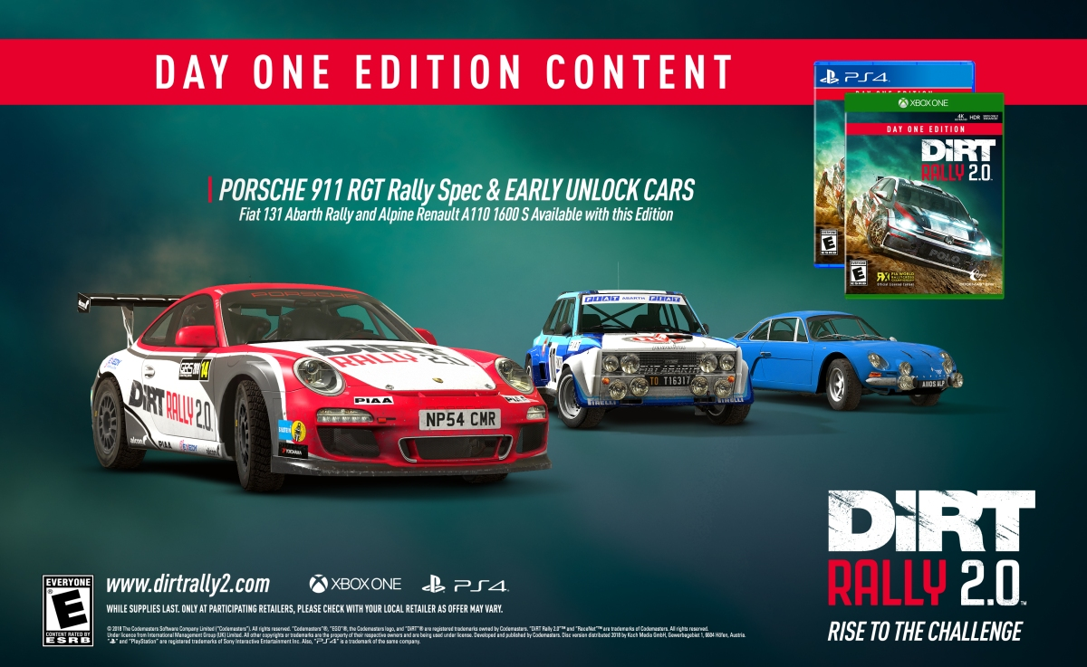 On Star App Android >> DiRT Rally 2.0 Coming Feb. 26th, 2019 with a Day One Edition and Pre-Order Bonuses | The Gamer ...