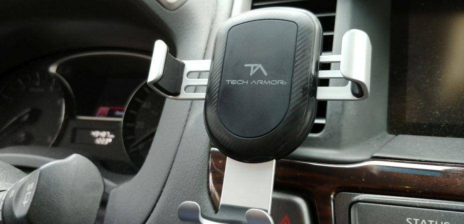 Tech Armor Wireless Charging Car Vent Mount
