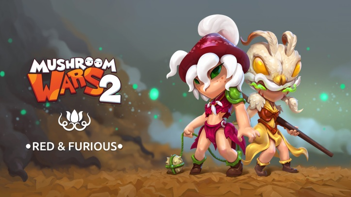 Mushroom Wars 2 Red & Furious