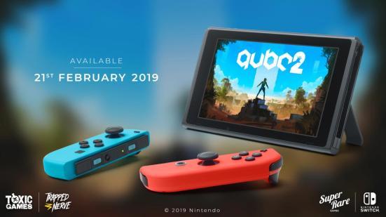 Q.U.B.E. 2 Nintendo Switch