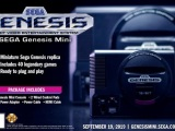 SEGA Genesis Mini Will Feature 42 Games Including Tetris, Darius, and Strider