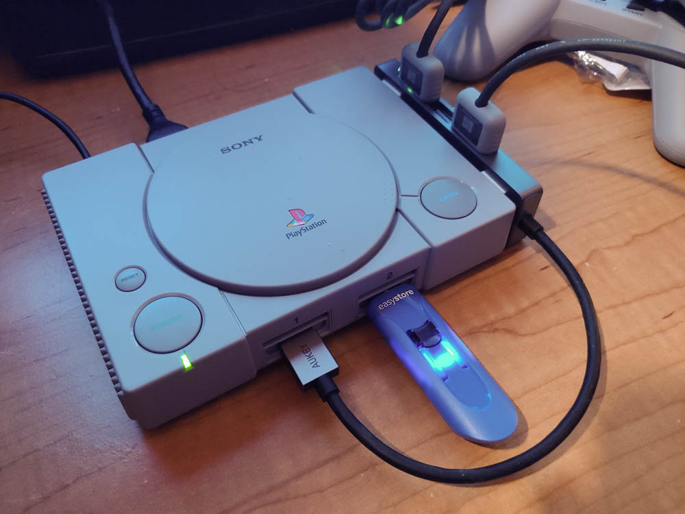 Using The Aukey 4 Port Usb 3 0 Hub With The Playstation Classic Review The Gamer With Kids