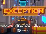 Rotating Neon Combat Platformer 'Exception' Coming to PlayStation 4 and NintendoSwitch