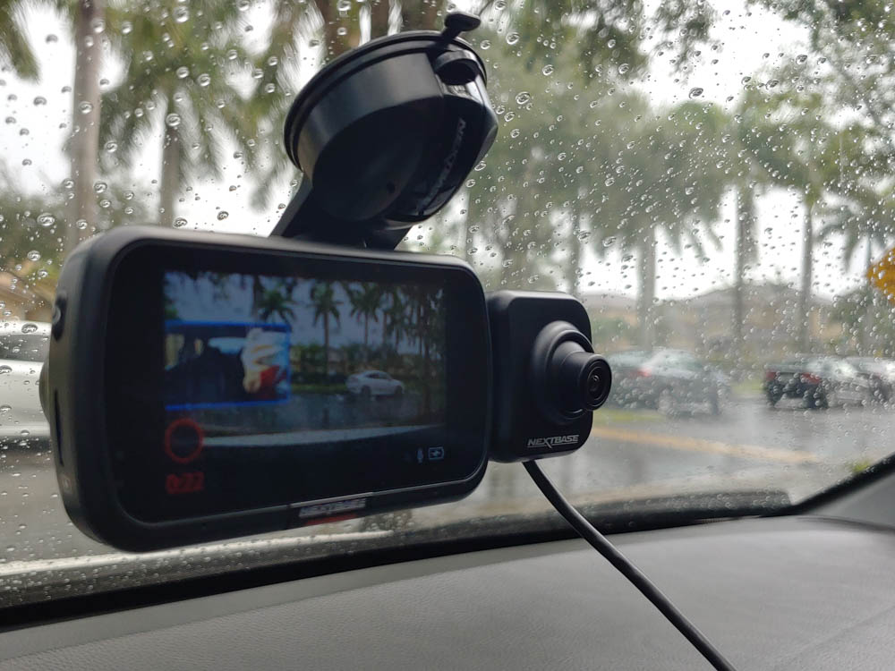 Rear window dash cam 16 x 30 tarp