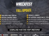 Free Wreckfest Fall Update Adds Tracks, Private Lobbies, and More